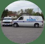 Renko Cleaning company vans