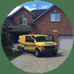 Renko Cleaning company van